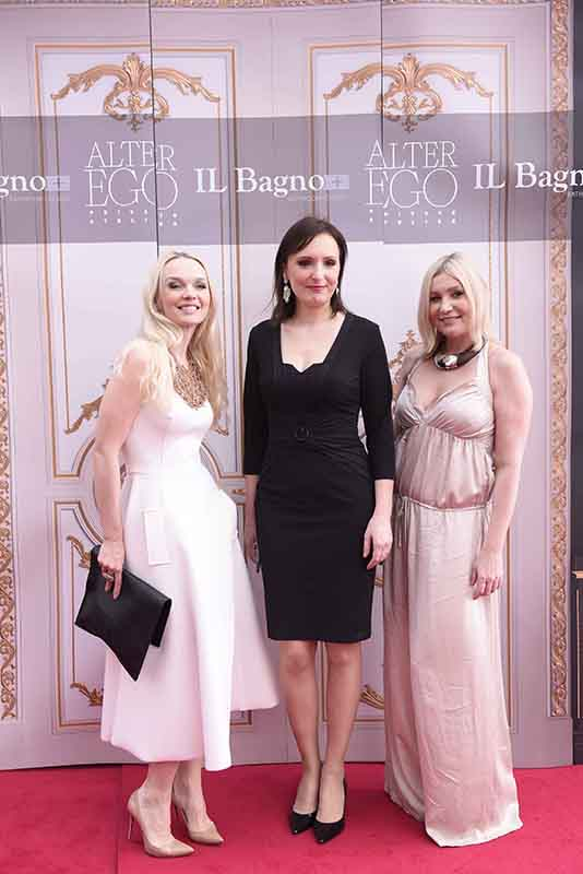 L-R Julia D. Lantieri, CEO, Alter Ego Project Group, Anna Kuzmina, Director, Alter Ego Italian Division and Larisa Girenok, Head of Global Communications & PR, Alter Ego Project Group