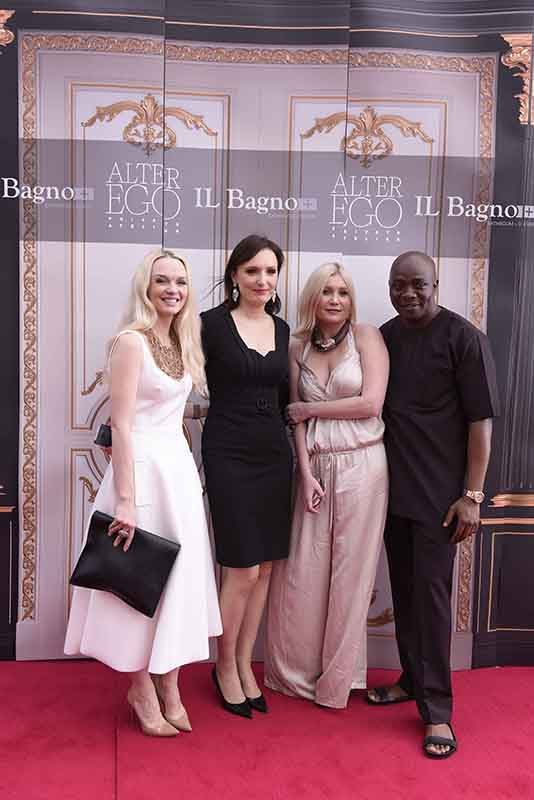 L-R Julia D. Lantieri, CEO, Alter Ego Project Group, Anna Kuzmina, Director, Alter Ego Italian Division, Larisa Girenok, Head of Global Communications & PR, Alter Ego Project Group