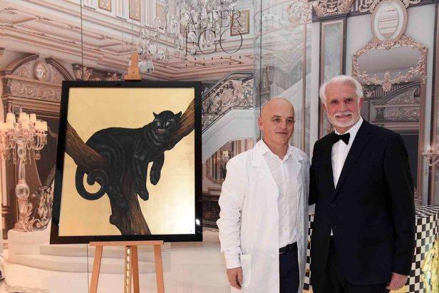 L-R Massimo Tasca, Alter Ego Design Artiste and Lucio Doro, President, Alchymia